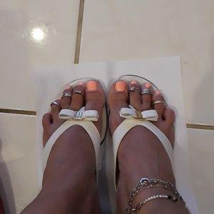 Salvatore Ferragamo sandals, size 8